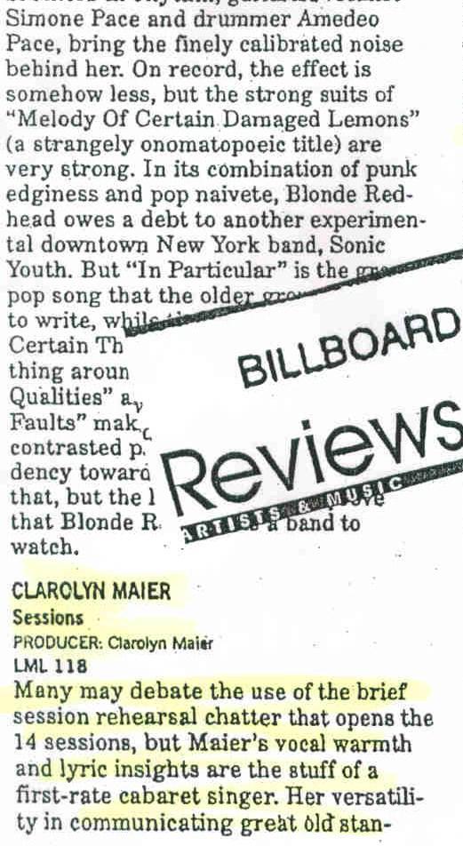 Billboard Reviews